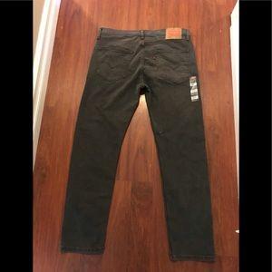 Levi's 502 stretch gray denim jeans 36 x32 NWT